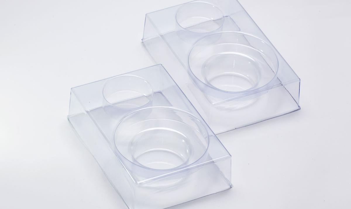 Embalagem desmontada para frascos de vacina