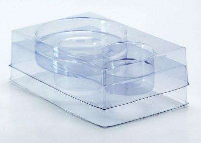 Embalagem transparente para Engrenagem